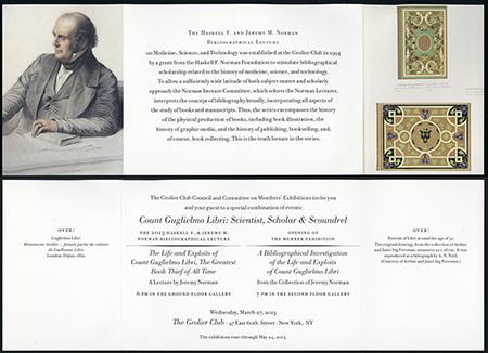 Norman Lecture 2013 Invitation