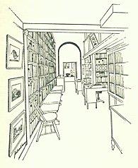 Interior view, looking toward Warren Howell's office