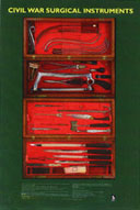 Civil War Surgical Instruments Poster