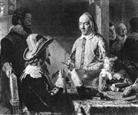 William Harvey Demonstrating A Deer To King Charles I And The Boy Prince Poster