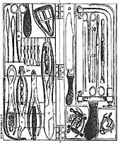 The Centennial Edition of American Armamentarium Chirurgicum (1889) by George Tiemann & Co.